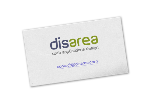 Disarea - web applications design